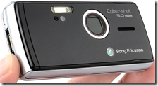 SONY Ericsson k850i SenseCam